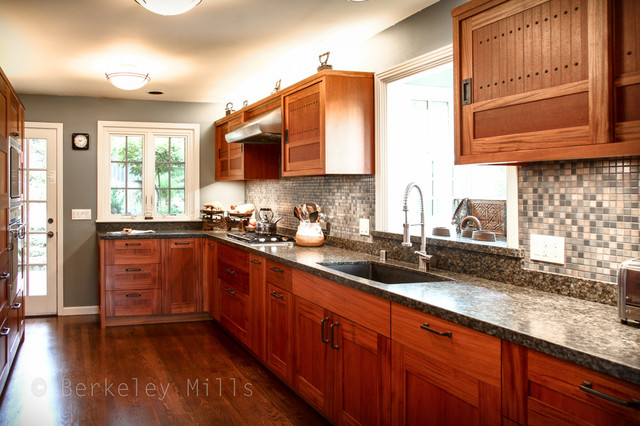 Custom Mahogany Kitchen Traditional Kitchen Other Metro By Berkeley Mills