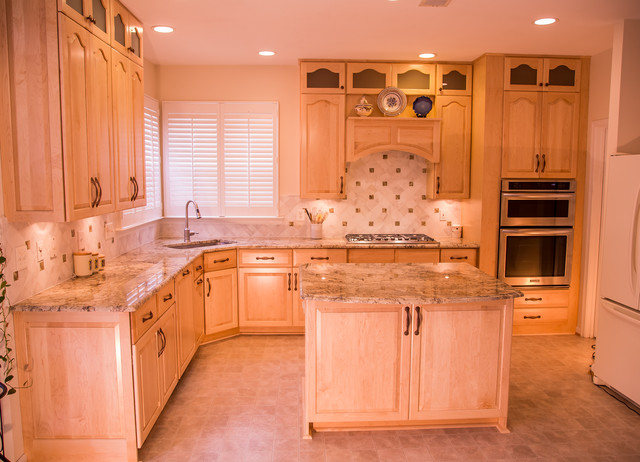 Traditional Style Kitchen in Sterling Virginia - Traditional - Kitchen ...