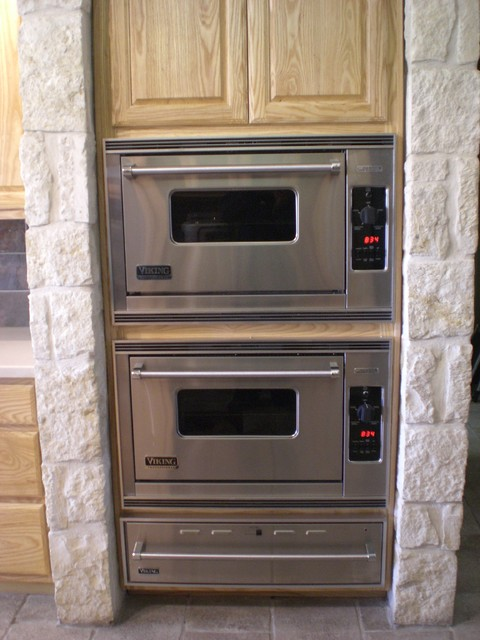 Custom Oak Cabinets - Kitchen - other metro - by Lone Star Remodeling And Renovations