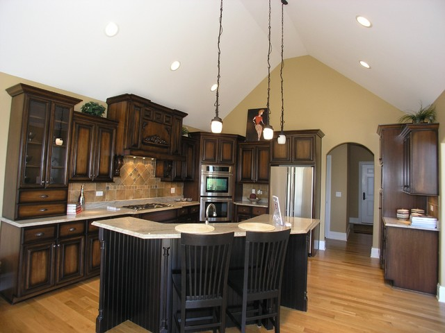 Custom Ranch Home - Timbers Edge traditional kitchen
