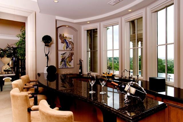 Custom Residence Granite Bay mediterranean-kitchen
