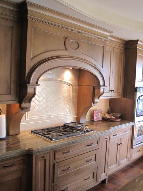 Custom residence, Lake Forest, Illinois traditional-kitchen