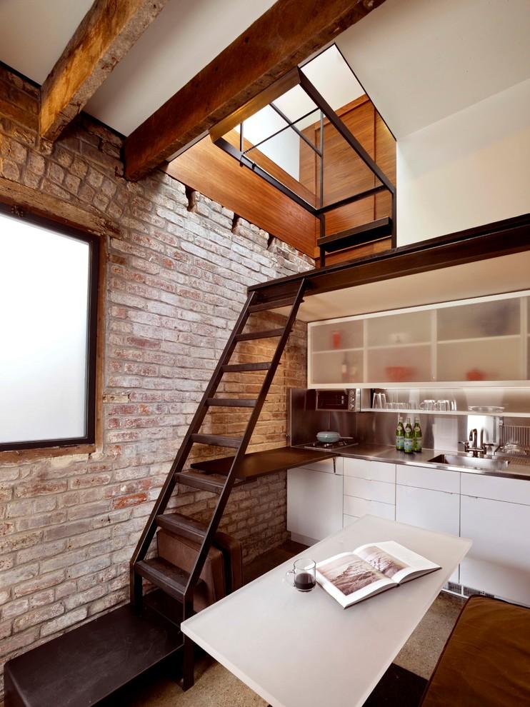 custom ships ladder - Contemporary - Kitchen - San ...