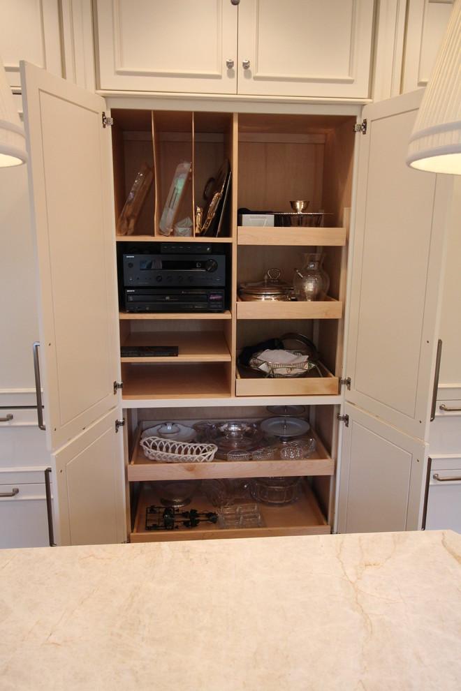Custom Storage in Classic White - Grosse Pointe Farms ...