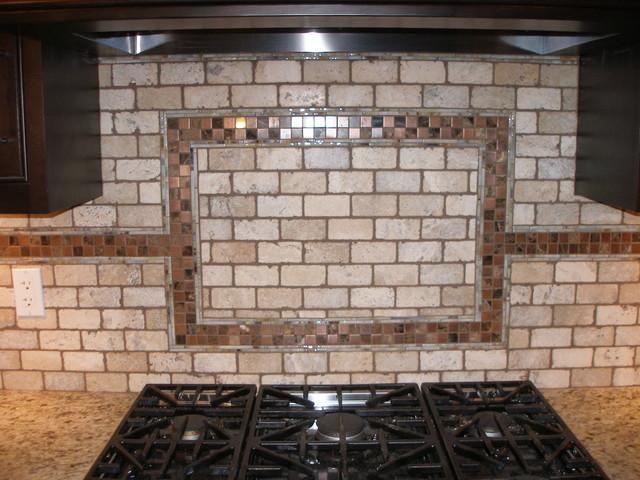 custom tile backsplash modern kitchen toronto by