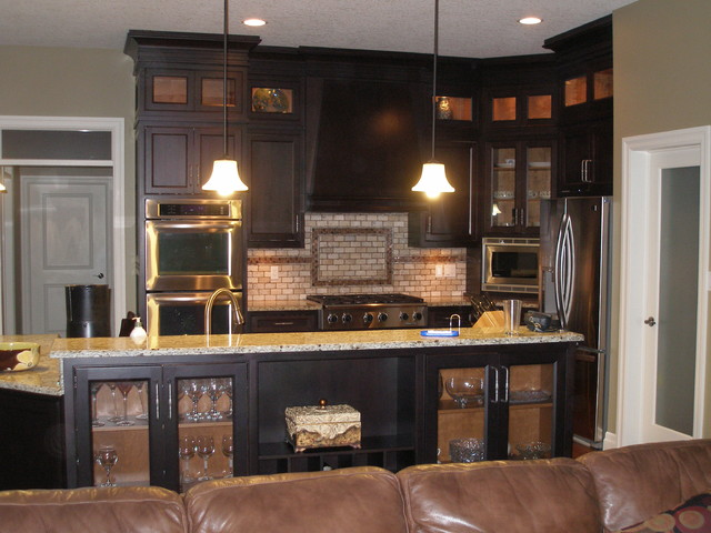 custom tile backsplash modern kitchen toronto by coleman