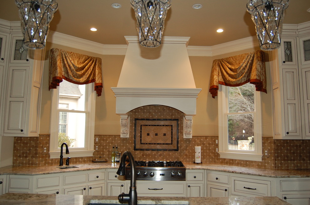 Custom Valances with Banding