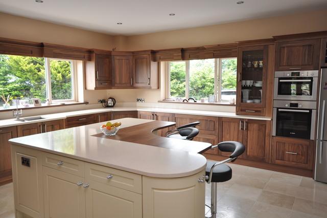 Custom Walnut Kitchen Modern Kitchen Dublin By Woodale