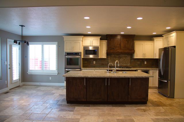Custom Wasatch Floor Plan traditional-kitchen