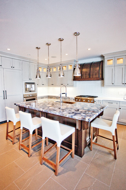 Custom Waterfront Home Barrie Transitional Kitchen Toronto By Madison Taylor