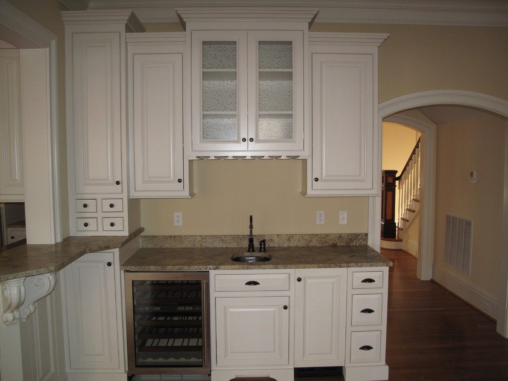 Custom White Cabinets - Traditional - Kitchen - Richmond ...