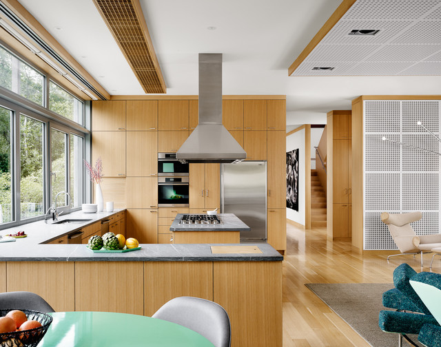 Custom White Oak Arete Kitchens Contemporary Kitchen