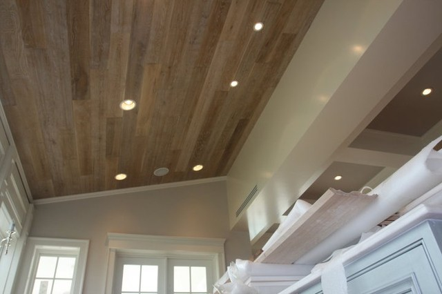 Captiva home ceiling contemporary kitchen other for Wood floor and ceiling