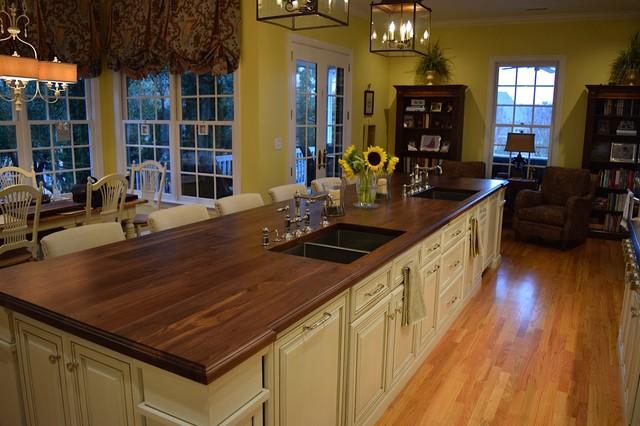 Custom Wood Countertops Island Tops