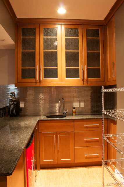 Custom Woodwork and Cabinets contemporary-kitchen