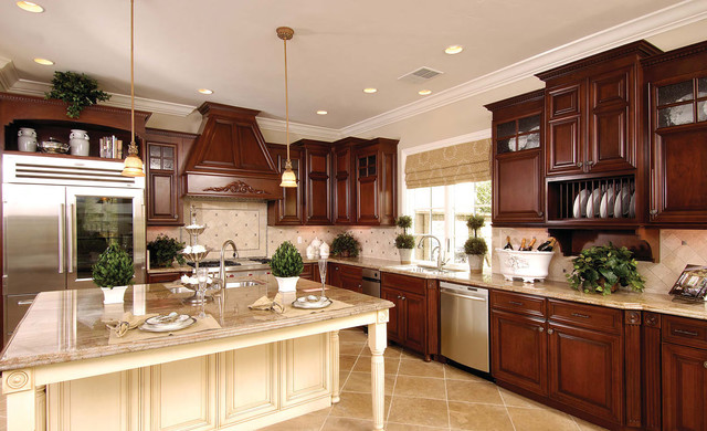 Customer Kitchen using Cabinetnow.com Cabinet Doors - Traditional - Kitchen - New Orleans - by ...