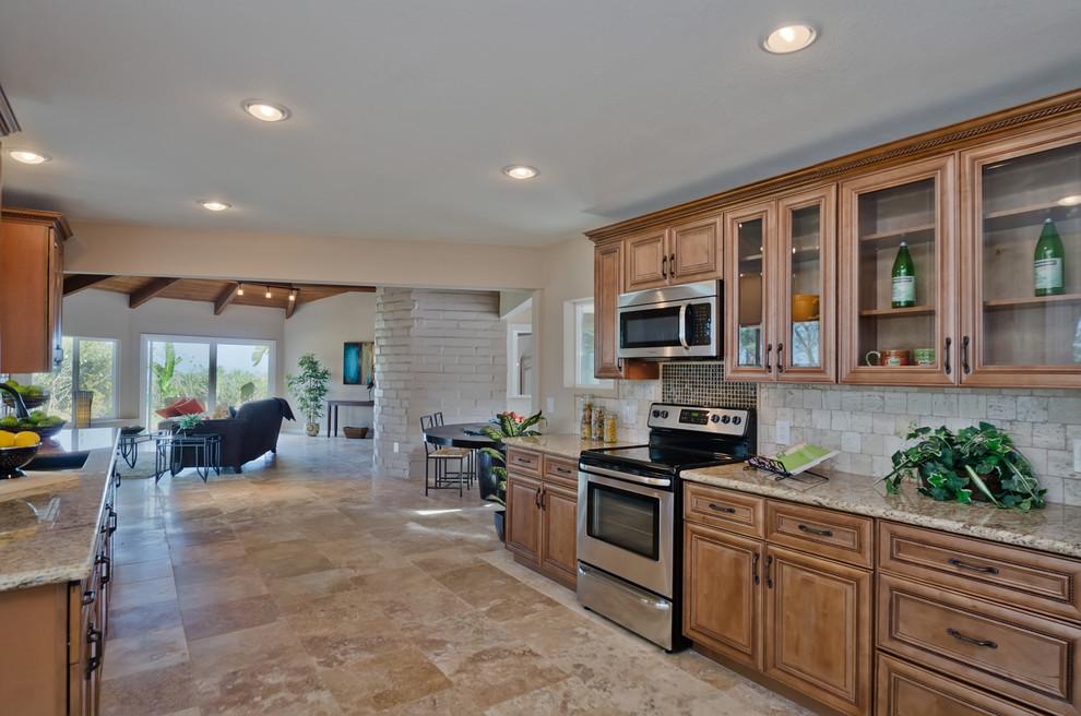 Cycad Road - San Marcos, CA - Mediterranean - Kitchen ...