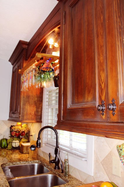 D. L. Corder traditional-kitchen