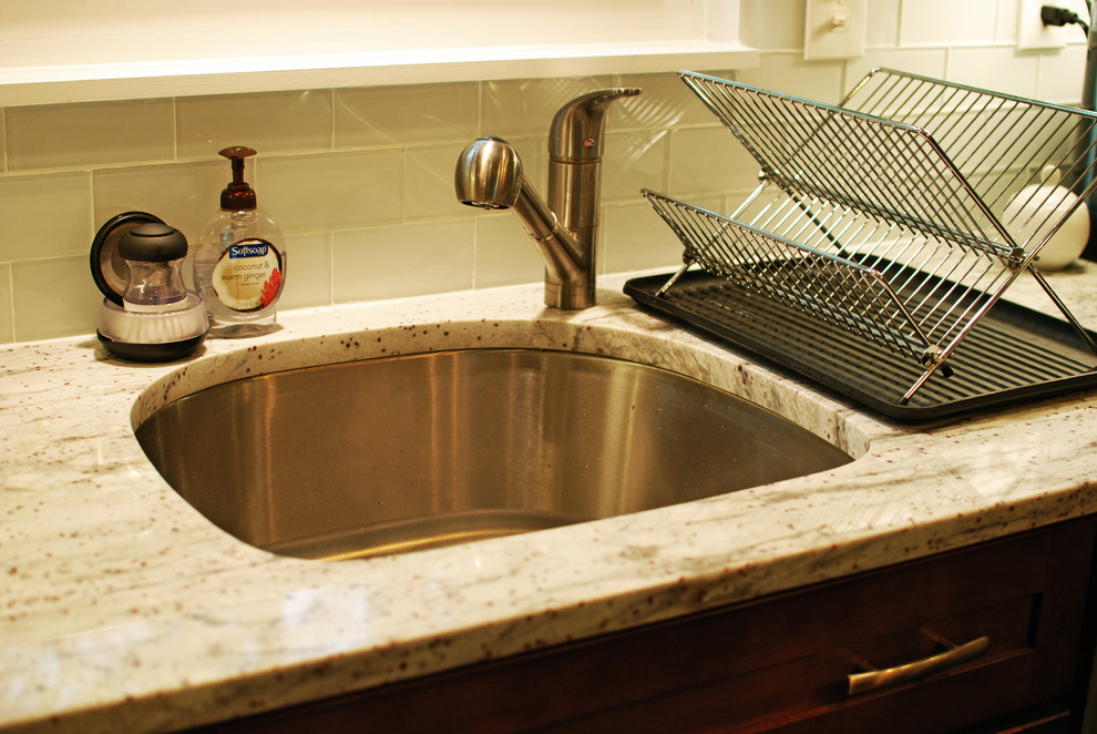 D-Shape sink - Contemporary - Kitchen - DC Metro - by FA Design Build