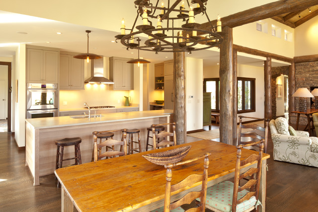 Dairy Ranch Remodel contemporary-kitchen