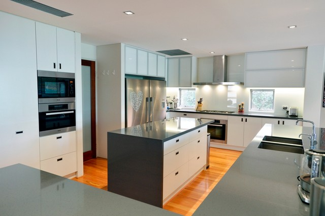 Dalkeith House Contemporary Kitchen Perth By Threadgold Architecture