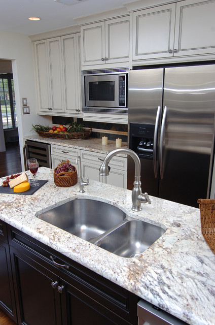 Island Sink Traditional Kitchen Dallas By Kitchen Design Concepts