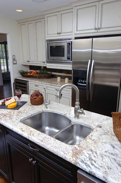 Island Sink Traditional Kitchen Dallas By Kitchen Design Concepts
