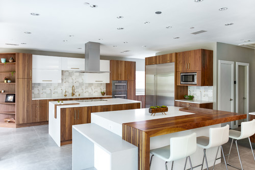Glossy or matte countertop finishes for your home