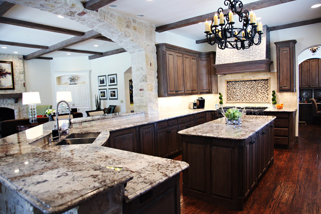 Dallas Park Cities Project traditional-kitchen