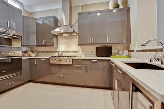 Dallas Townhouse - Contemporary - Kitchen - dallas - by J Campbell Interiors