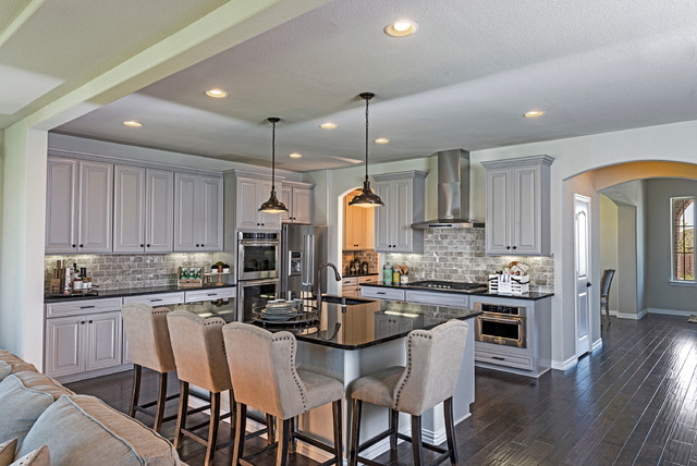 Dallas Tx Beazer Homes Communities Traditional Kitchen Dallas By Beazer Homes