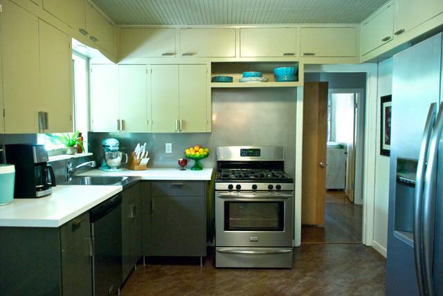 Dallas, TX: Bri and Trey Denton eclectic-kitchen
