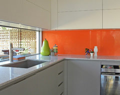 Dallas, TX: Brian and Katherine midcentury-kitchen