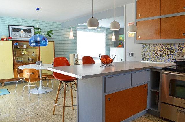 Dallas Tx Stolp Midcentury Kitchen Dallas By Sarah Greenman