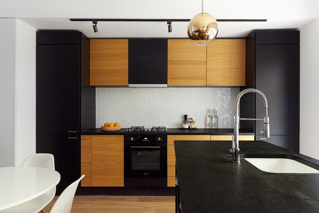 Dalston house contemporary kitchen