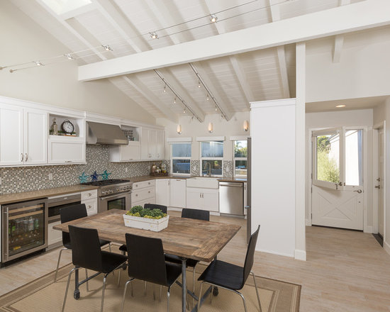 dining table kitchen island instead dining table anyone do away with their kitchen table and extend their