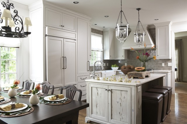 Dana Wolter Interiors rustic-kitchen