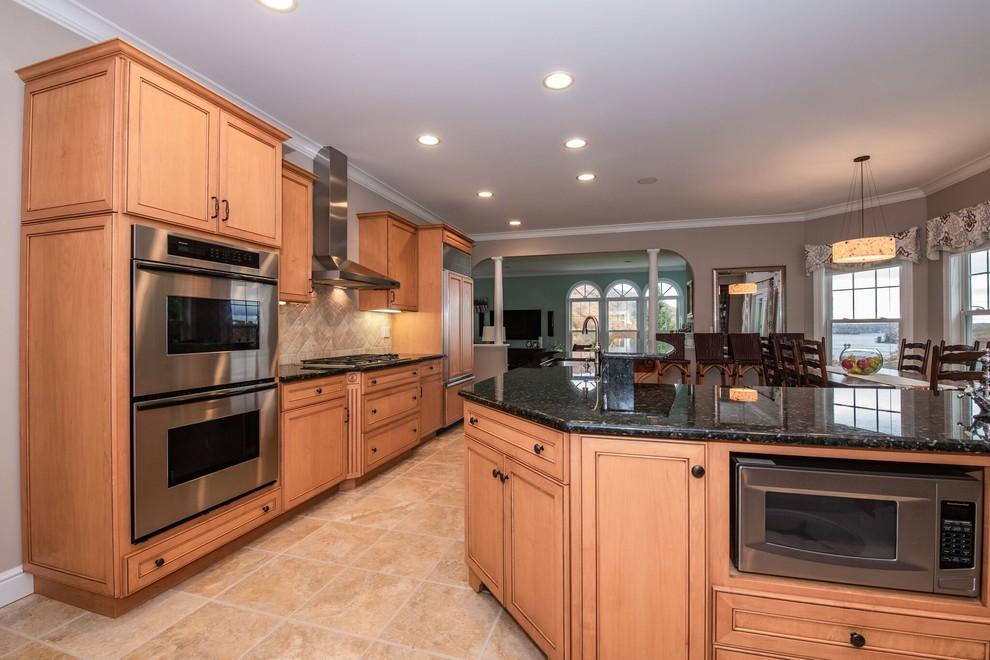 Danbury Open Concept Transitional - Transitional - Kitchen ...