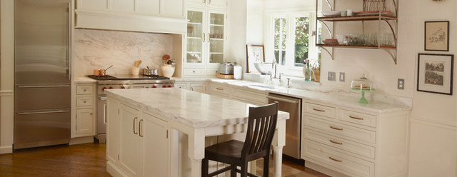 Danby Marble Kitchen traditional-kitchen