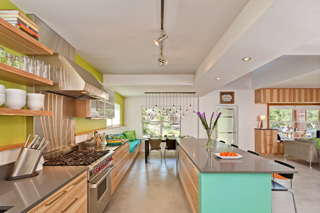 Dandelion house contemporary kitchen austin by for Modern home decor austin