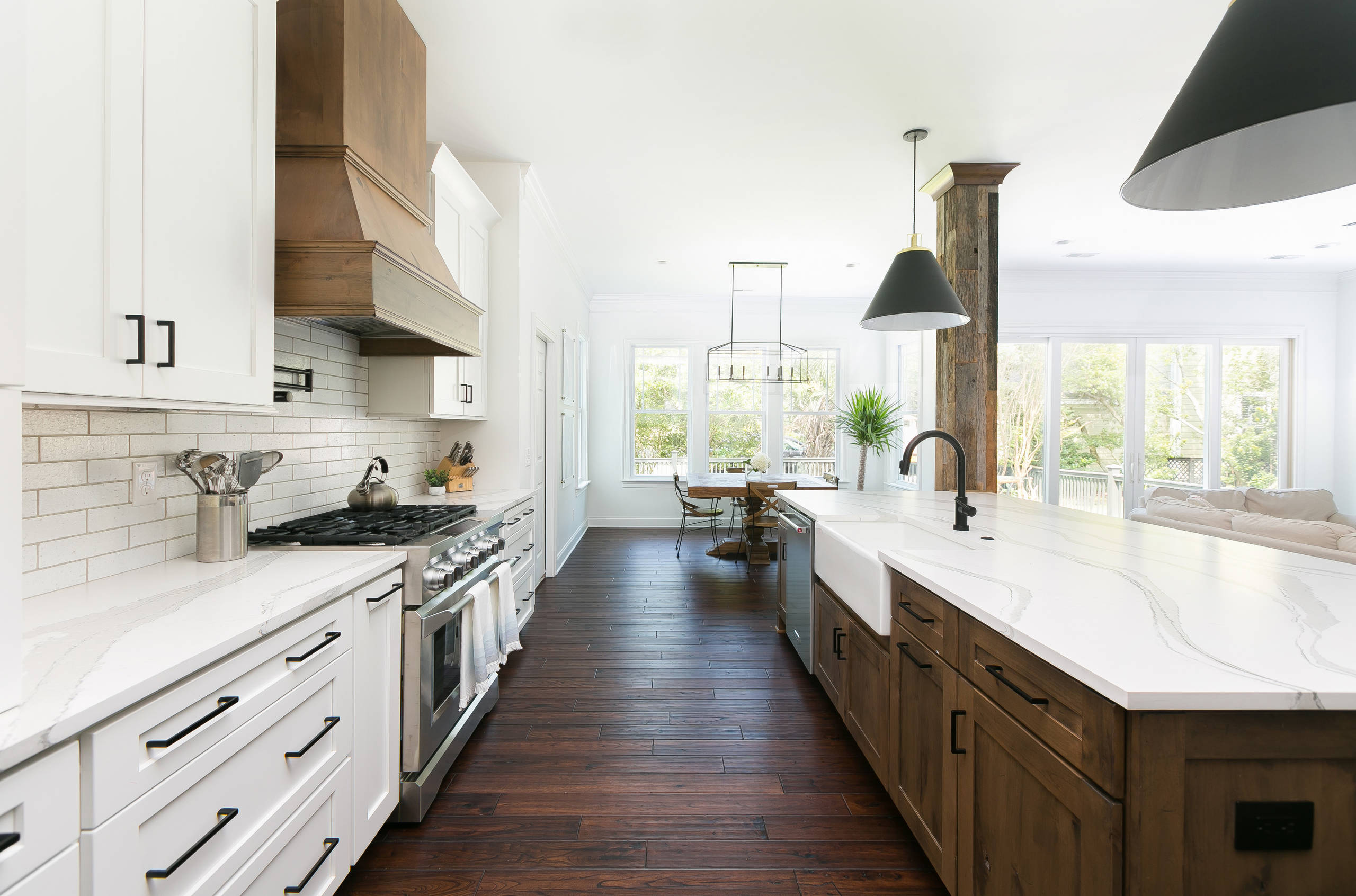 75 Beautiful Galley Open Concept Kitchen Pictures Ideas November 2020 Houzz