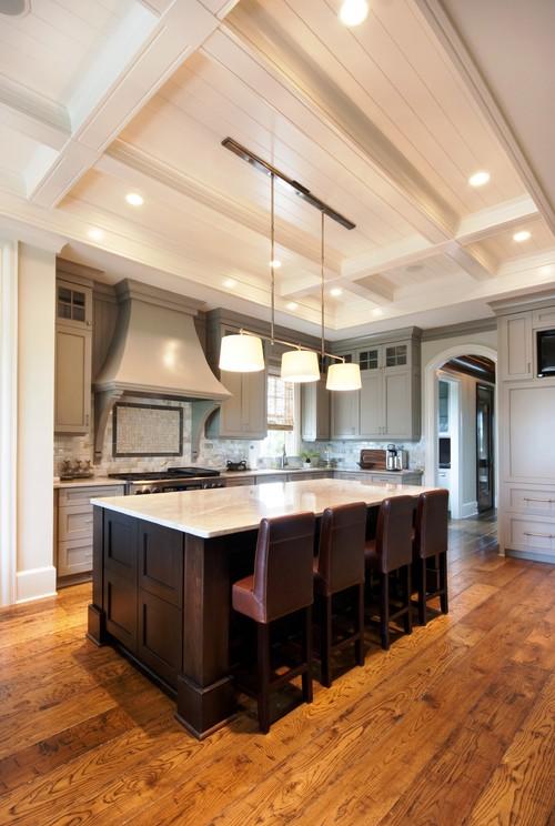 Dorian Gray kitchen cabinets