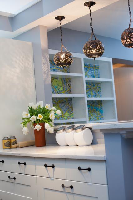 Danielle & Peter eclectic-kitchen