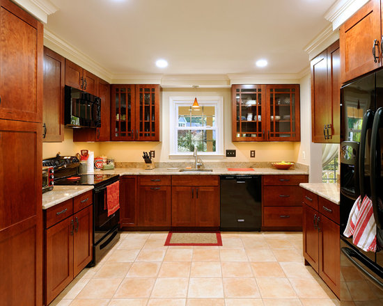 Kitchen Wall Colors With Cherry Cabinets Home Design Ideas, Pictures