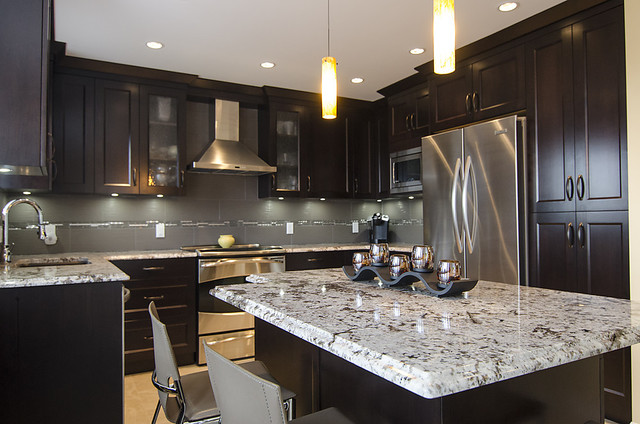 Dansy Ave- Nickels Cabinets contemporary-kitchen
