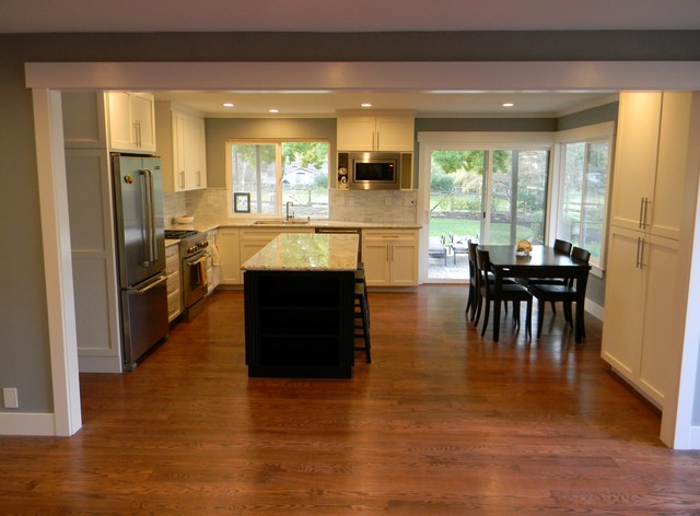 Danville Ca Kitchen Remodel Traditional Kitchen San Francisco By Cwd Remodels Windows