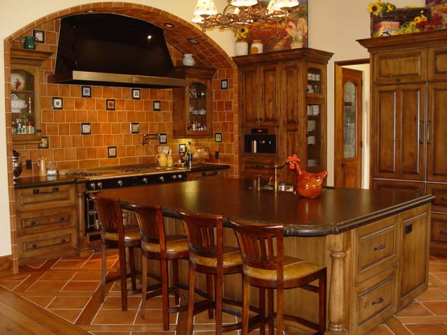 Danville residence mediterranean-kitchen