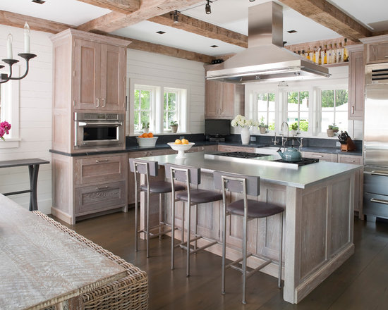 Whitewashed cabinets home design ideas pictures remodel for Blue washed kitchen cabinets
