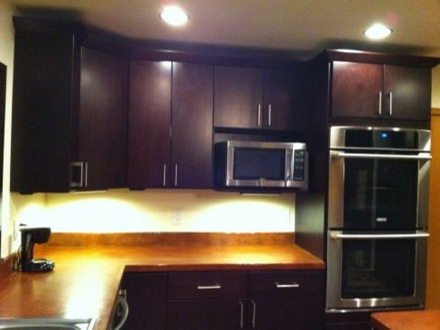 Dark Brown Kitchen Cabinets | Tribecca Door Style | Kitchen Cabinet ...