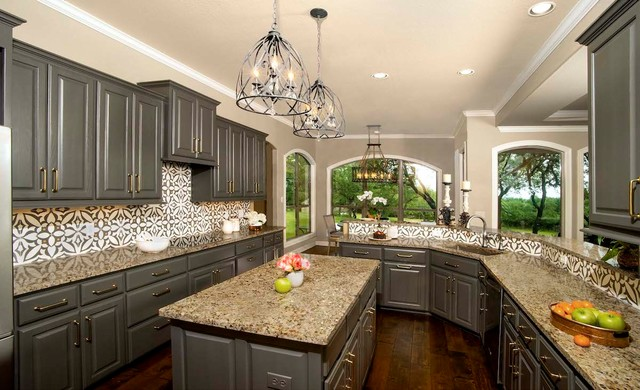 Dark Lacquered Cabinets In Benjamin, Moores Kitchen Cabinets
